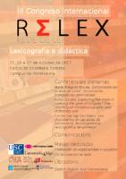 III Congreso RELEX. Cartel