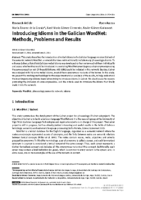 Introducing Idioms in the Galician WordNet: Methods, Problems and Results