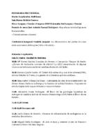Programa provisional VII Reunión Internacional Red Temática Lengua y Ciencia